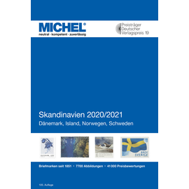 Michel Europa-Katalog Band 10 Skandinavien 2020/2021
