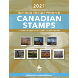 Unitrade The Unitrade Specialized Catalogue of Canadian Stamps edition 2021