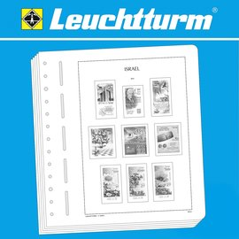 Leuchtturm inhoud SF Israel with tab 1970-1980