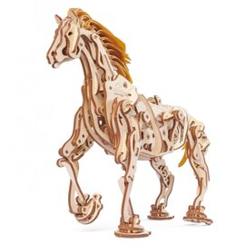 UGears Houten bouwpakket mechanisch lopend Paard