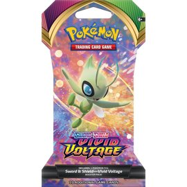 The Pokemon Company Sword & Shield Vivid Voltage sleeved boosterpack