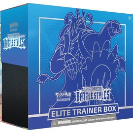 The Pokemon Company Pokémon Sword & Shield Battle Styles Elite Trainer Box Blue