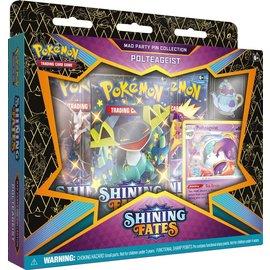 The Pokemon Company Pokémon Shining Fates Mad Party Pin Collection Polteageist
