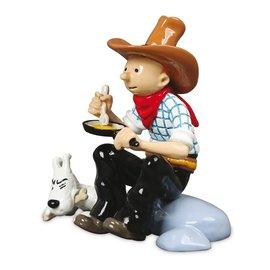 moulinsart set mini figures Tintin in America