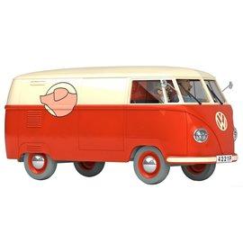 moulinsart Kuifje auto 1:24 #13 De Volkswagenbus van Meneer Sanzot