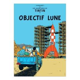 moulinsart Tintin poster - Destination Moon - 50 x 70 cm