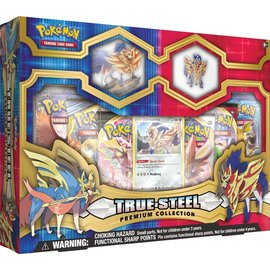 The Pokemon Company Pokémon True Steel Premium Figure & Pin Collection