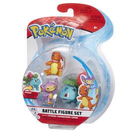 BOTI Pokémon Battle Figure Set - Ivysaur + Charmander + Aipom