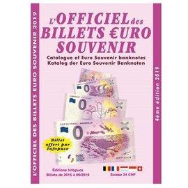 Infopuce L'Officiel des Billetes Euro Souvenir