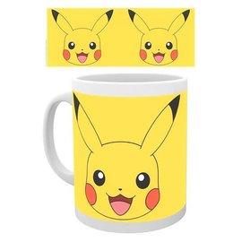 Hole in the Wall Pokémon beker Pikachu face