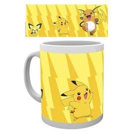 Hole in the Wall Pokémon beker Pikachu evolutions