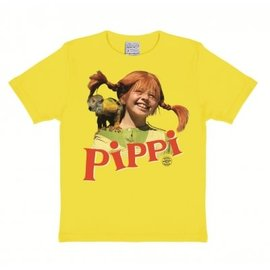 Logoshirt T-Shirt Kids Pippi Langkous