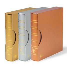 Leuchtturm Ringbinder & Schutzkassette Grande Classic Metallic Edition