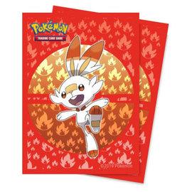 Ultra-Pro Pokémon Deck Protector Scorbunny 65 sleeves