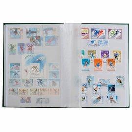 Leuchtturm insteekboek voor postzegels A5-formaat Basic W 16/5