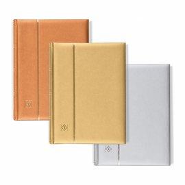Leuchtturm insteekboek voor postzegels Comfort Metallic Edition