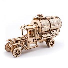 UGears Houten bouwpakket Truck mechanische tanker