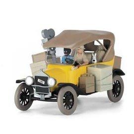 moulinsart Tim und Struppi Auto 1:12 Ford T gelb - Kongo