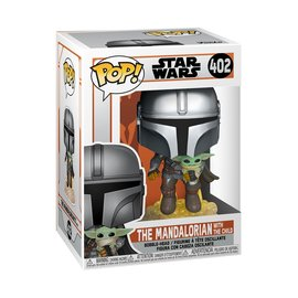 Funko Pop! Star Wars The Mandalorian 402 - The Mandalorian Flying with Jet Pack