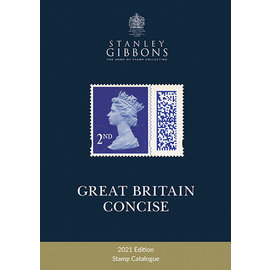 Gibbons Great Britain Concise Stamp Catalogue 2021 Edition