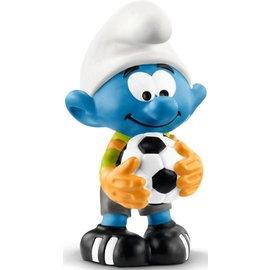 Schleich Keeper Smurf met voetbal