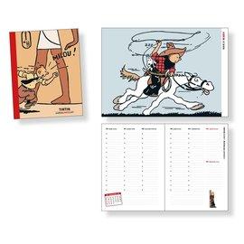 moulinsart Tintin Diary 2022