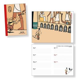 moulinsart Tintin pocket diary 2022