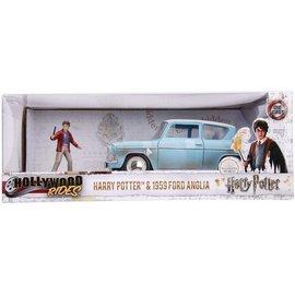 Jada Toys Harry Potter & 1959 Ford Anglia 1:24