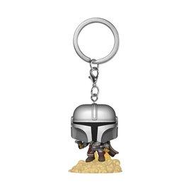 Funko Pocket Pop! Keychain The Mandalorian Flying