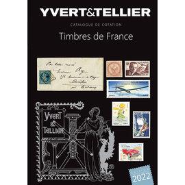 Yvert & Tellier Timbres de France 2022