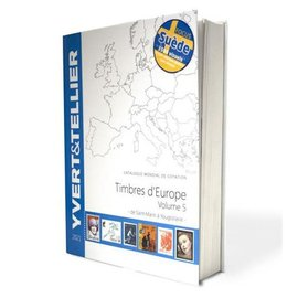 Yvert & Tellier Timbres d'Europe Volume 5 de Saint-Marin à Yougoslavie