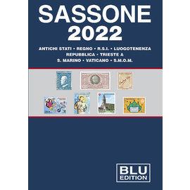 Sassone Blu 2022 Antichi stati · Regno · R.S.I. · Luogotenenza · Repubblica · Trieste · S. Marino · Vaticano · S.M.O.M.