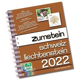 Zumstein Schweiz & Liechtenstein 2022 Spiralbindung