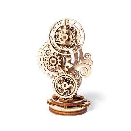 UGears Houten bouwpakket modelbouw - mechanische Steam Punk Clock