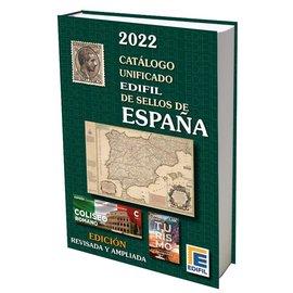 Edifil Catálogo unificado de sellos de España 2022