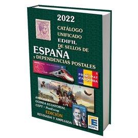 Edifil Catálogo unificado de sellos de España y Dependencias Postales 2022