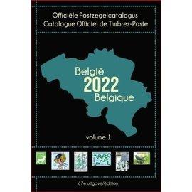 OCB - COB Officiële Postzegelcatalogus België 2022