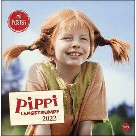Heye Pippi Langstrumpf Kalender 2022