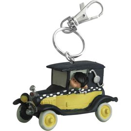 Plastoy Guust Flater sleutelhanger - Guust in auto