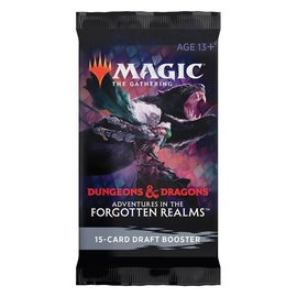 Wizards of the Coast Magic The Gathering Booster Dungeons & Dragons Forgotten Realms
