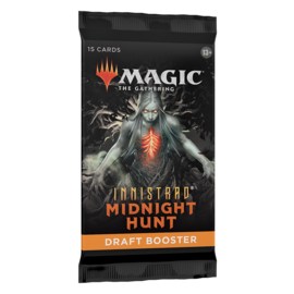Wizards of the Coast Magic The Gathering Draft Booster Innistrad Midnight Hunt