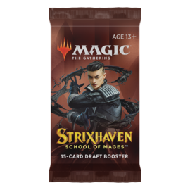 Wizards of the Coast Magic The Gathering Draft Booster Strixhaven School of Mages