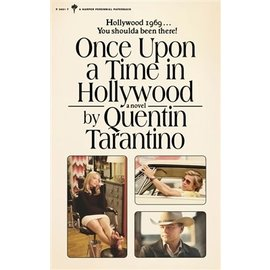 HarperCollins Quentin Tarantino - Once upon a time in Hollywood