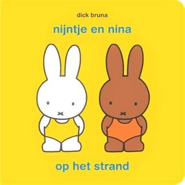 Mercis Nijntje boekje: nijntje en nina op het strand (met puzzel) - Dick Bruna