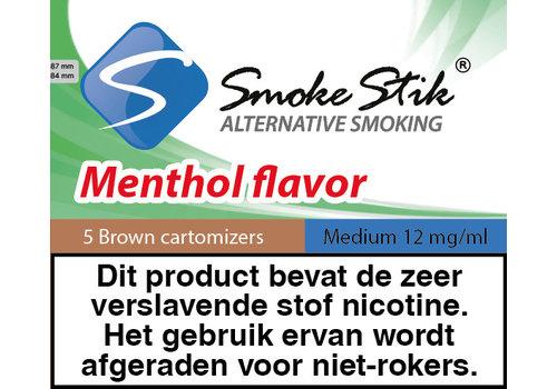 SmokeStik Cartomizer Menthol Bruin 12mg (5)