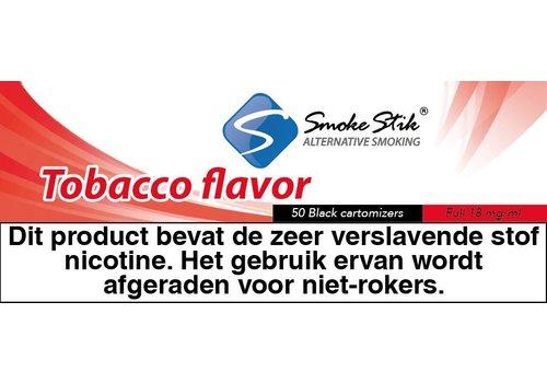 SmokeStik Cartomizer Regular Tabak Zwart 18mg (50)