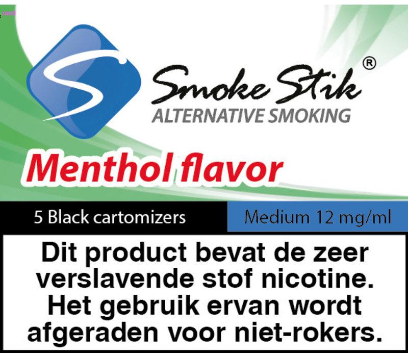 Cartomizer Menthol Zwart 12mg (5)