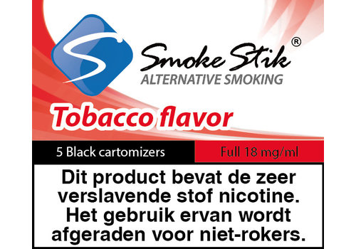 SmokeStik Cartomizer Regular Tabak Zwart 18mg (5)