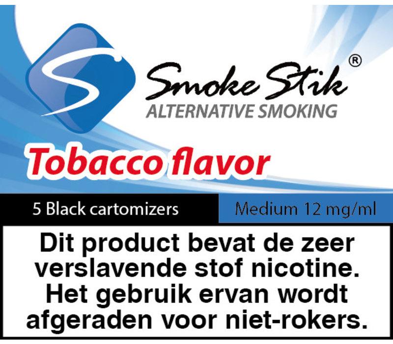 Cartomizer Regular Tabak Zwart 12mg (5)