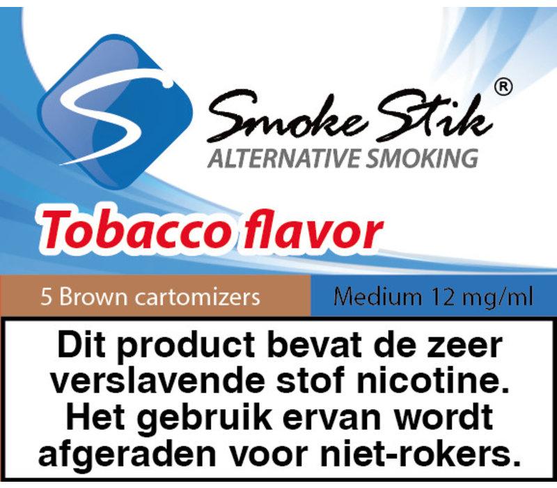Cartomizer Regular Tabak Bruin 12mg (5)